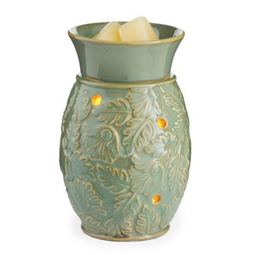 The Flaming Candle Company - Green Leaf Midsize Warmer, $9.99 (http://www.theflamingcandle.com/accessories-additives/tart-warmers/green-leaf-midsize-warmer/)