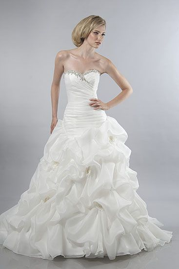Alfred Sung #6843 available @ Bridal Debut