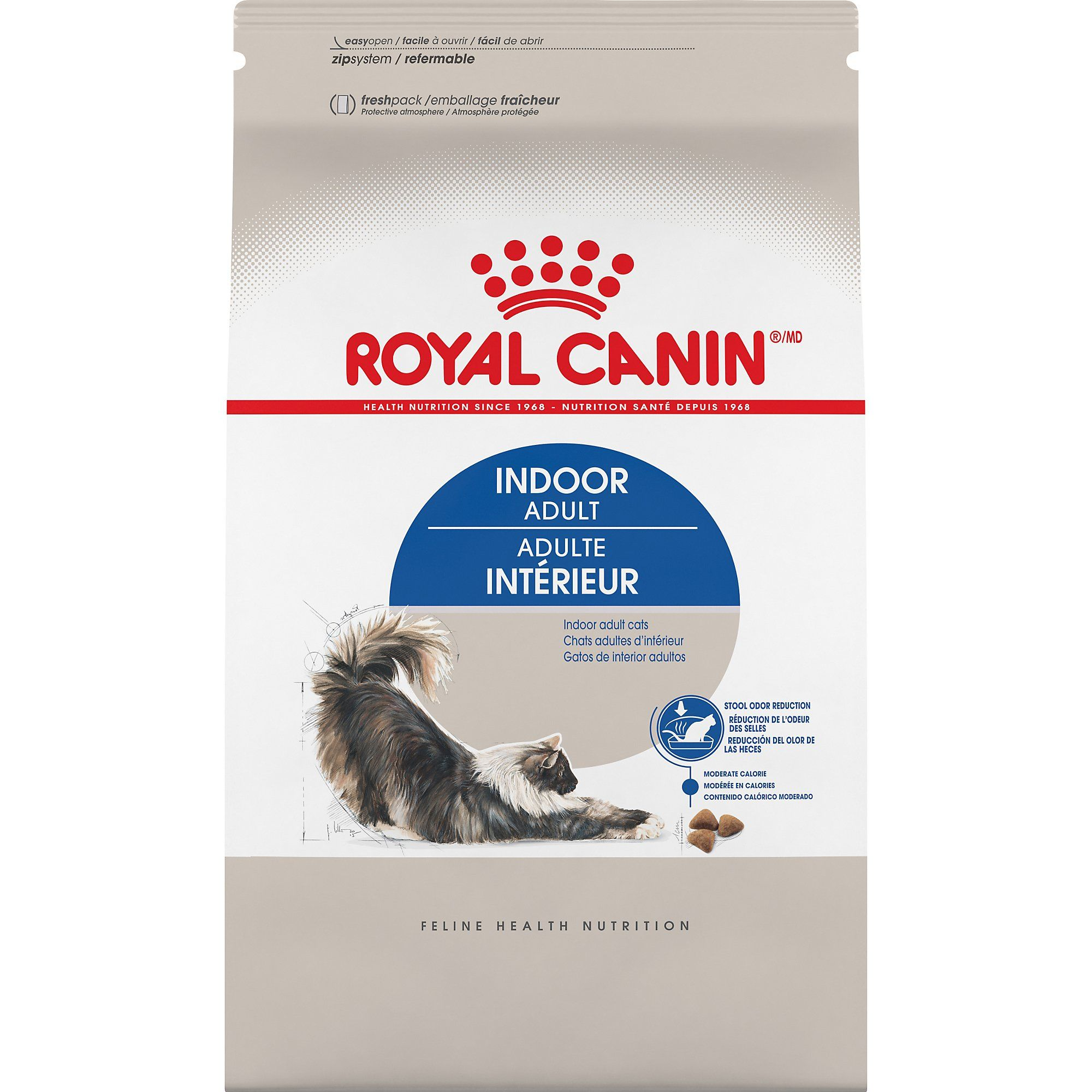 Royal Canin Indoor Adult Dry Cat Food, 15 lbs. Cat food