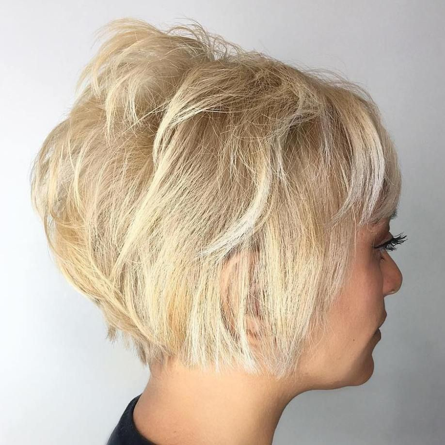 50 Cute And Easy To Style Short Layered Hairstyles Blonde