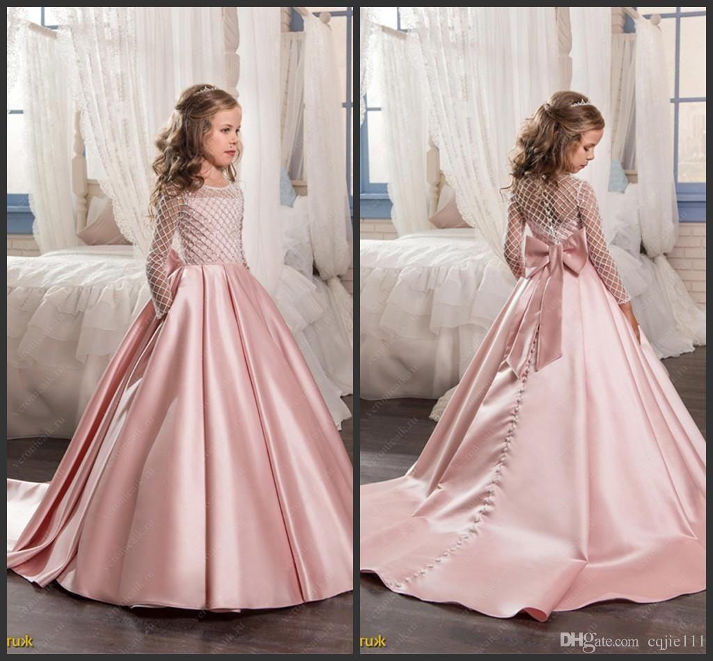 Abendkleider Kinder – Valentins Day  Blumen mädchen kleider