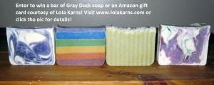 giveawayGrayducksoap4soaps