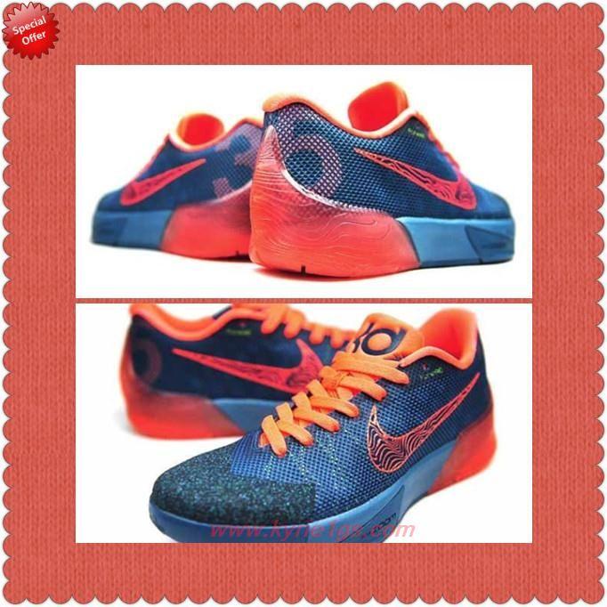 Where Can I Find Mens Rift Blue/Bright Mango 679865-484 Nike KD Trey
