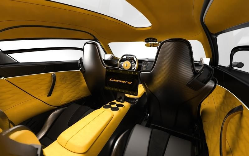 Cupholders The Koenigsegg Gemera Is The Most Practical Hypercar Ever Built In 2020 With Images Koenigsegg Super Cars Battery Powered Car