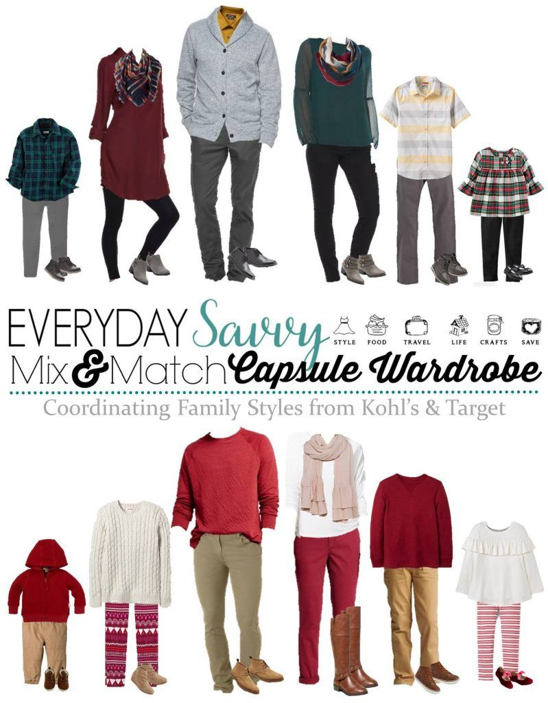 coordinating family photo outfit ideas & holiday outfits | family