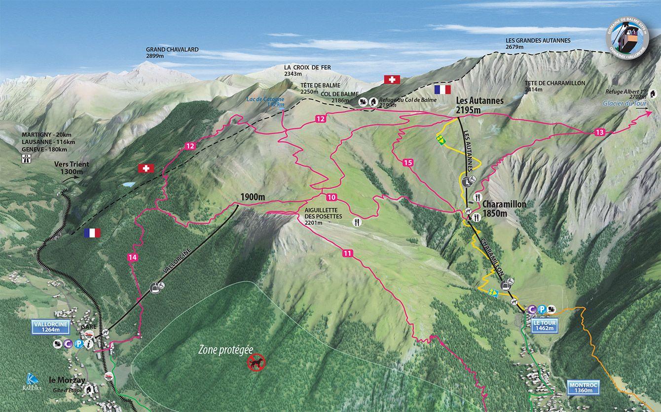 Walks Hiking Compagnie du MontBlanc Chamonix Walks Hiking