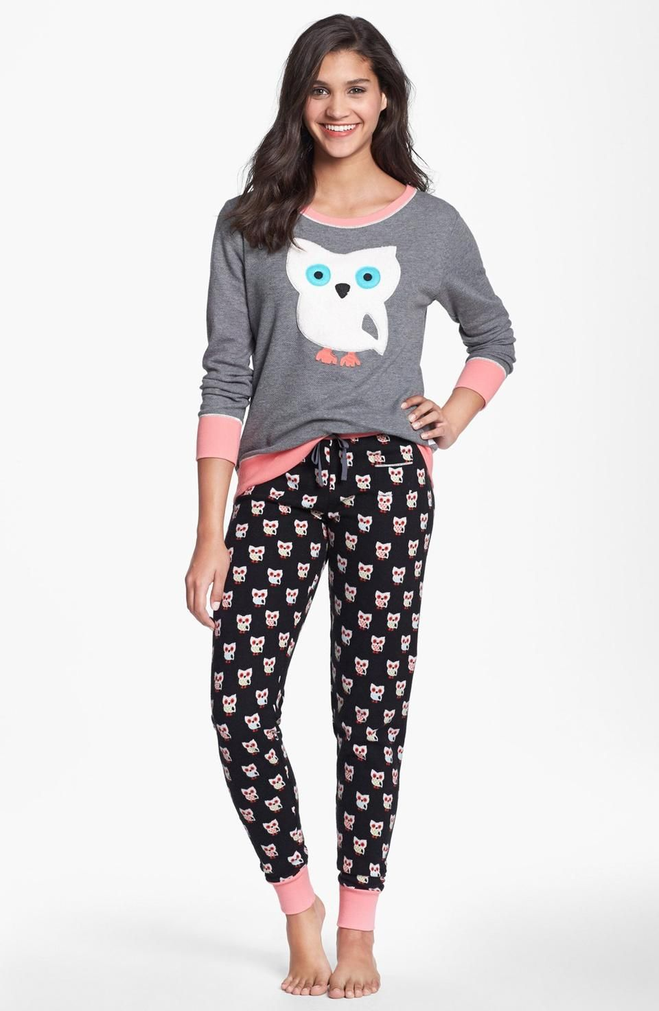 Adult Footed Christmas Pajamas