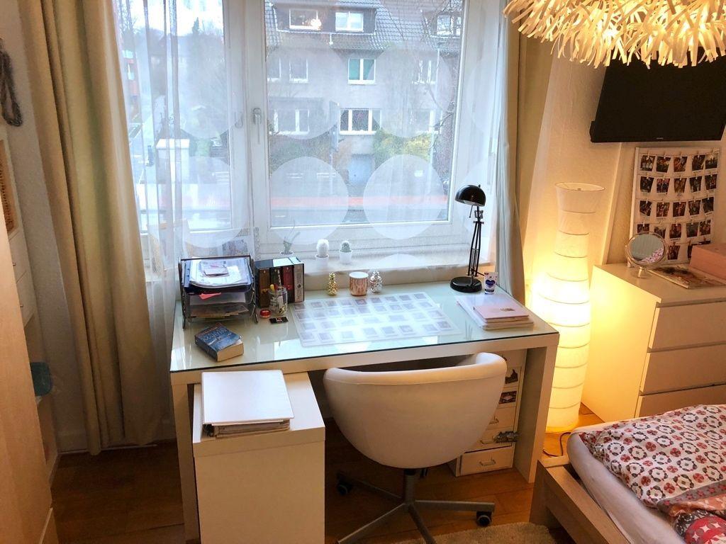 Kleines Arbeitszimmer ~ Kleiner aber heller arbeitsbereich fürs wg zimmer. #arbeitszimmer