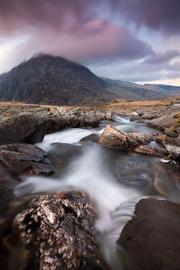 River of Fortune Cwm Idwal, Snowdonia