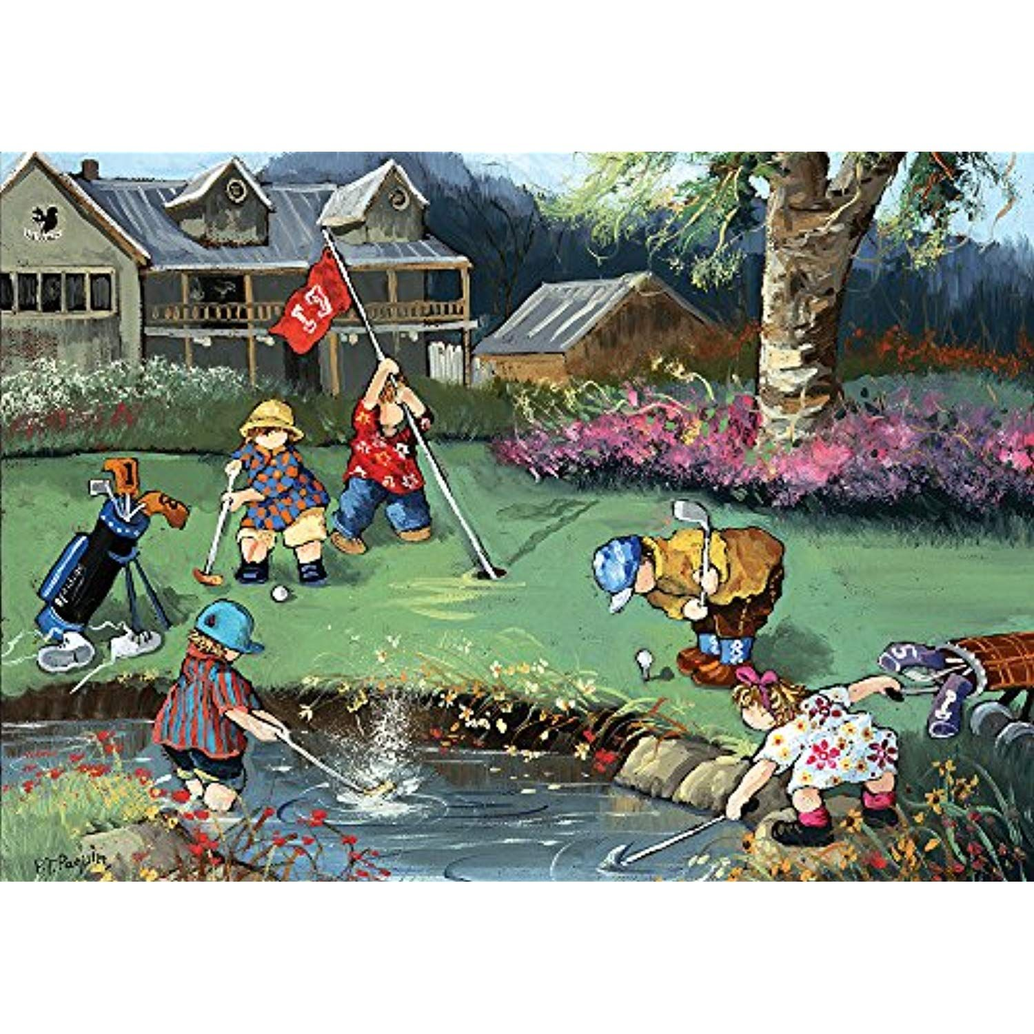 Trefl Puzzle Golf Game a Jigsaw (1000 Piece) More info