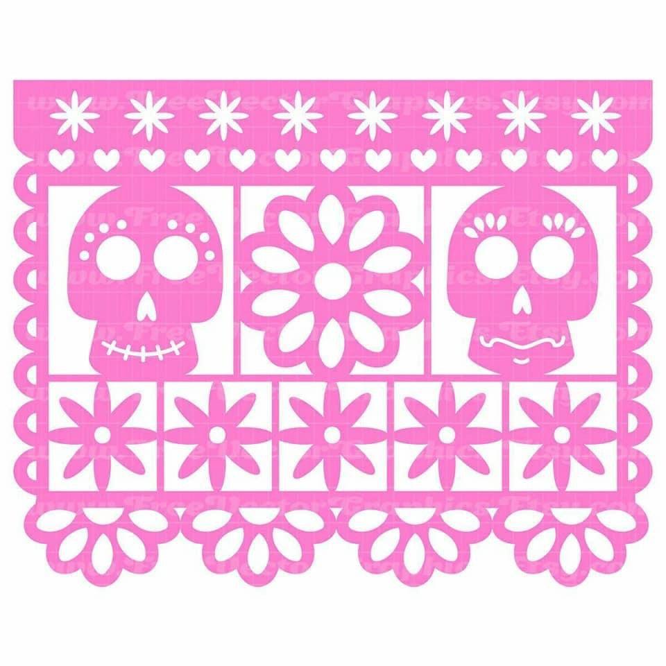 Pin By Janette Garcia On Dia De Muertos Cricut Projects Vinyl Paper Crafts Diy Tutorials Papel Picado