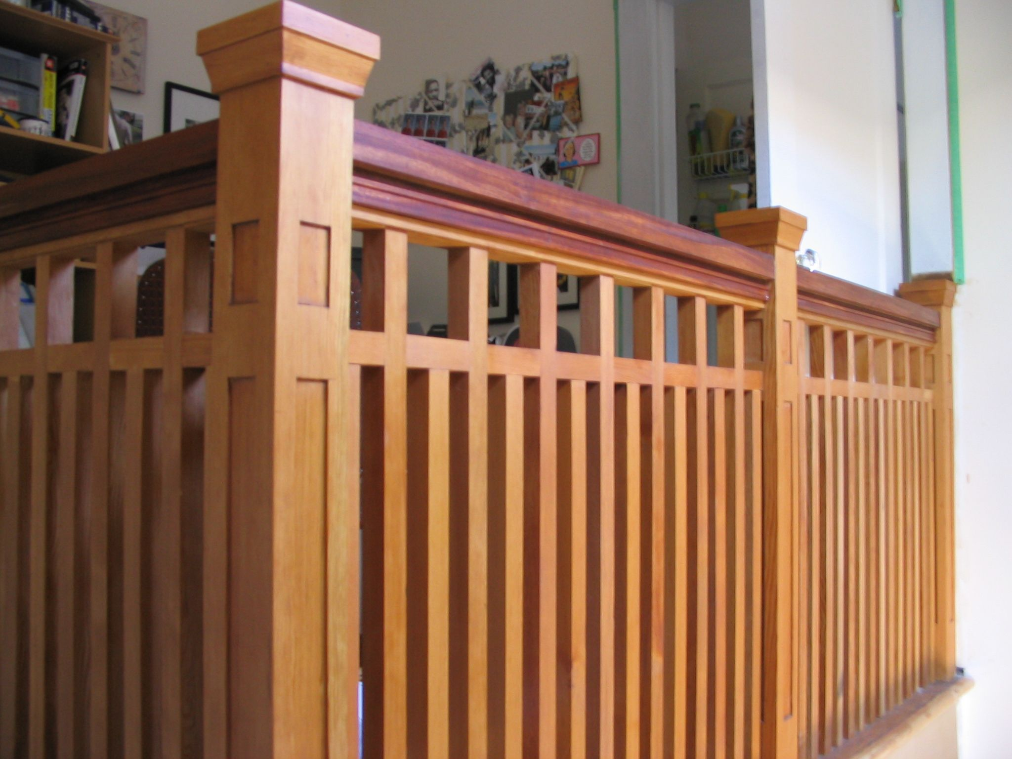 Best Railing For In Or Outside Craftsman Style Porch 400 x 300