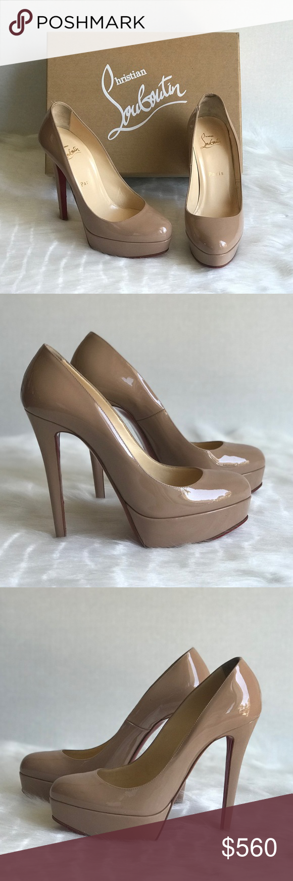 4000bcfb6c6c Christian Louboutin Bianca Pumps Size 37 Like New condition!! Box and dust  bag included! Size 37!! 100% authentic!! Christian Louboutin Shoes Heels