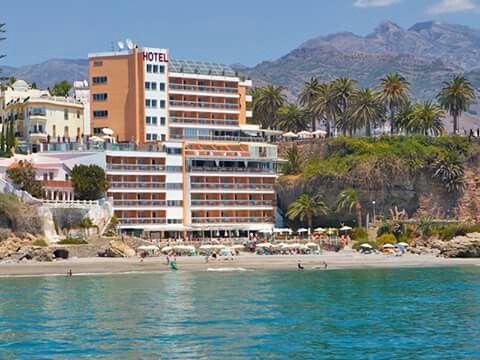 Hotel Balcon De Europa Nerja Seaside Resort New Zealand Beach