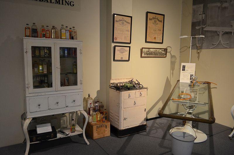 Embalming room Room and Display
