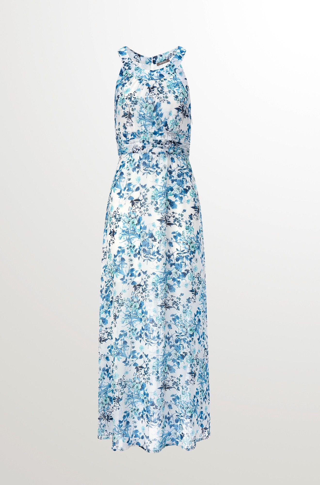 Maxi-Kleid mit Blumen-Print | Kleidung DIY | Pinterest | Blumen und ...
