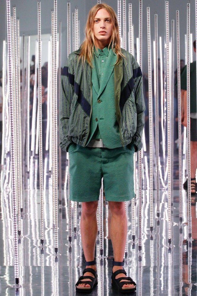 #Menswear Sacai Spring 2015 Primavera #Moda Hombre #Tendencias #Trends