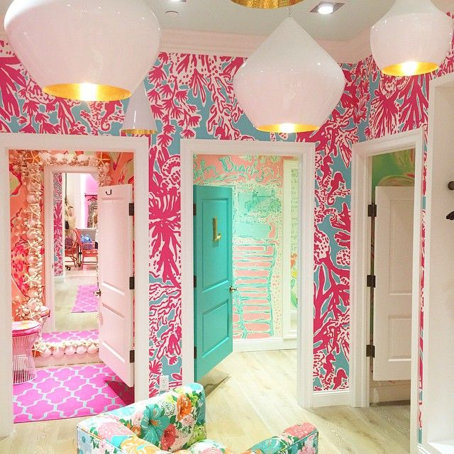 Lilly Pulitzer House lilly pulitzer dressing rooms at the palm beach gardens store
