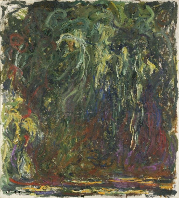 claude monet the weeping willow 1920 22 photo michele bellot