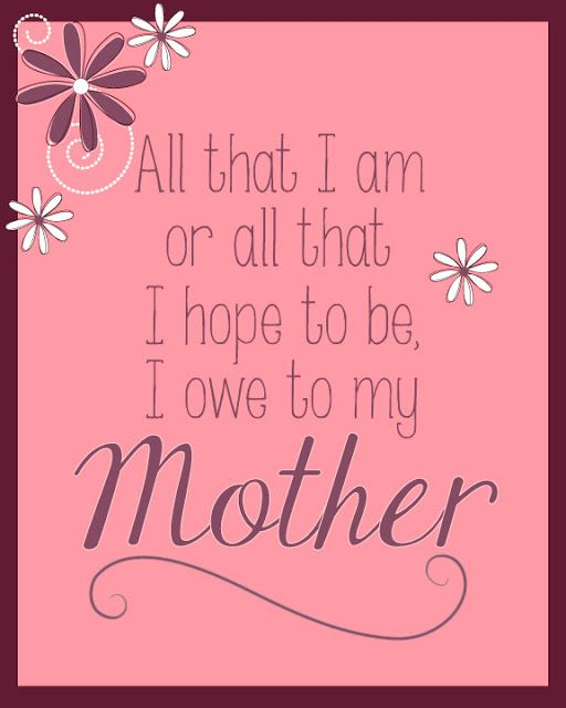 Free Printable Perfect Gift For Your Mom On Mothers Day Or