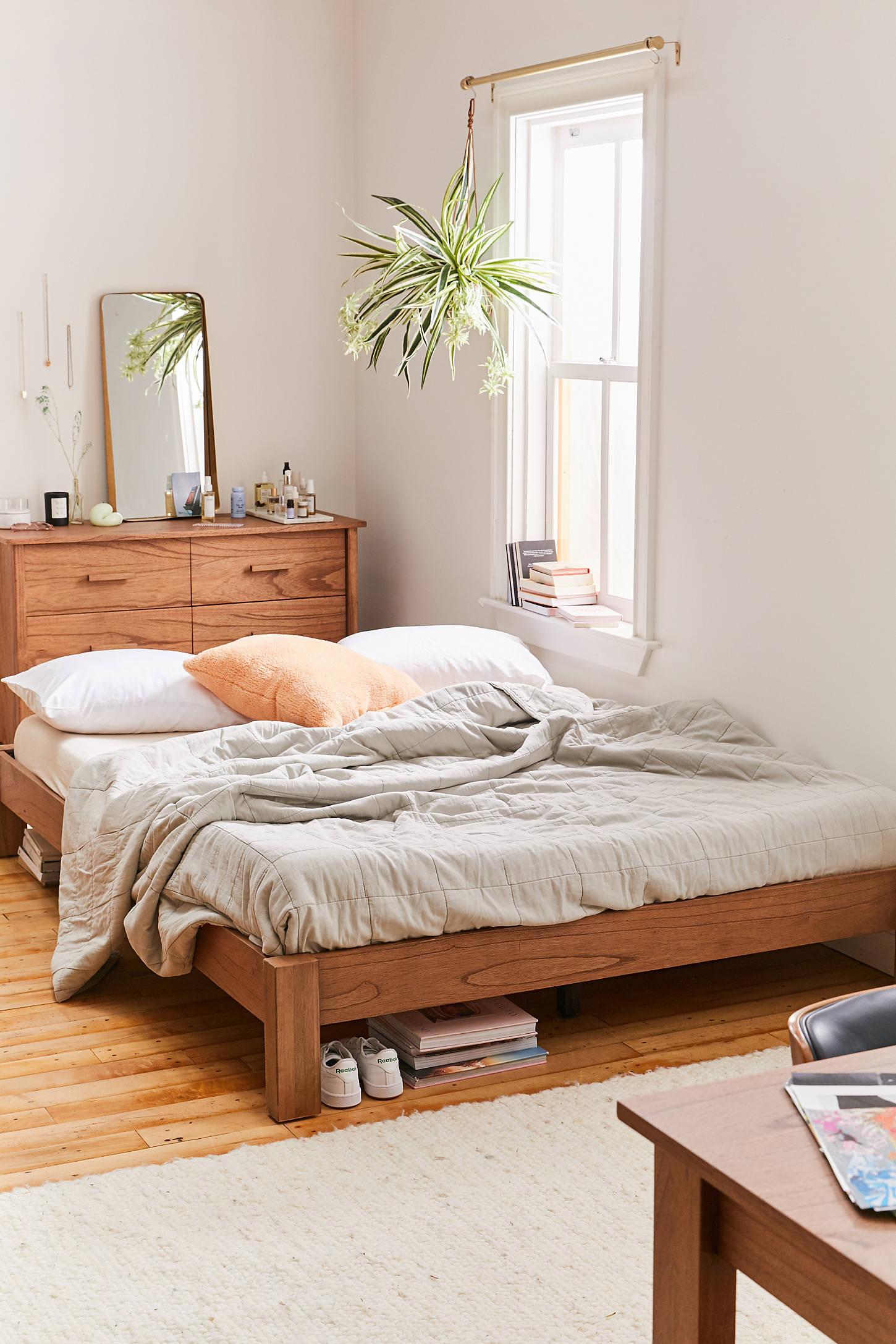 Boho Bedroom Discover Sadie Platform Bed Sadie Platform ...