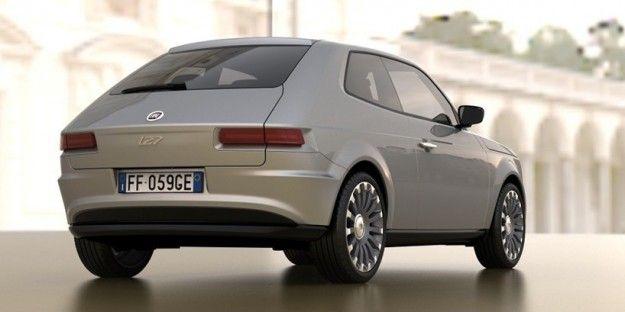 New Fiat 127 Concept Com Imagens Auto