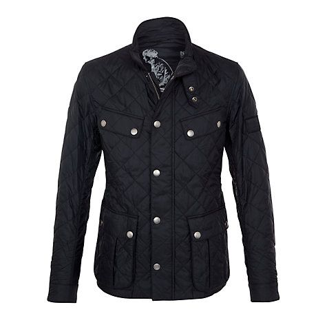 Buy Barbour International Ariel Quilted Jacket, Black Online at ... : cheap barbour quilted jackets - Adamdwight.com