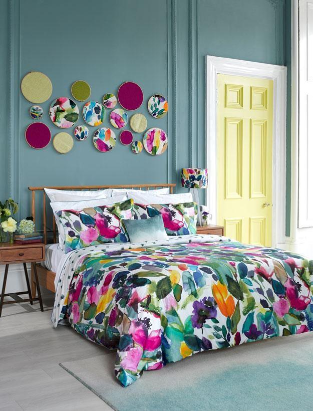 Get the look - DIY Fabric Hoop Wall Art