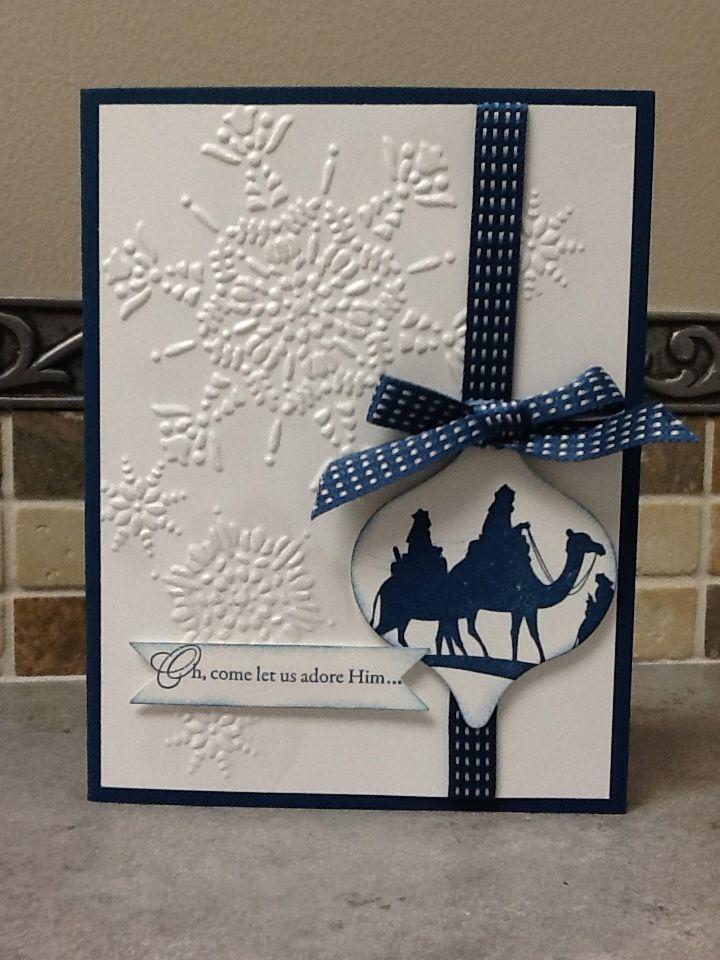 Christi S Creative Crew Come To Bethlehem Diy Christmas Cards Christmas Cards Handmade Homemade Christmas Cards