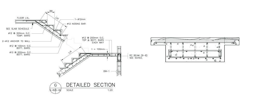 Modern Zigzag Stairs in Wood, Steel & Concrete | ZIG ZAG
