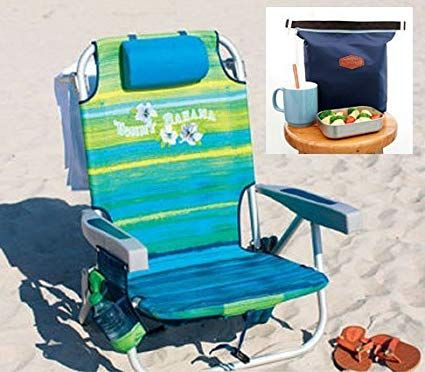 Tommy Bahama 2016 Beach Chair Bundle With De Reve Cooler Bag Review