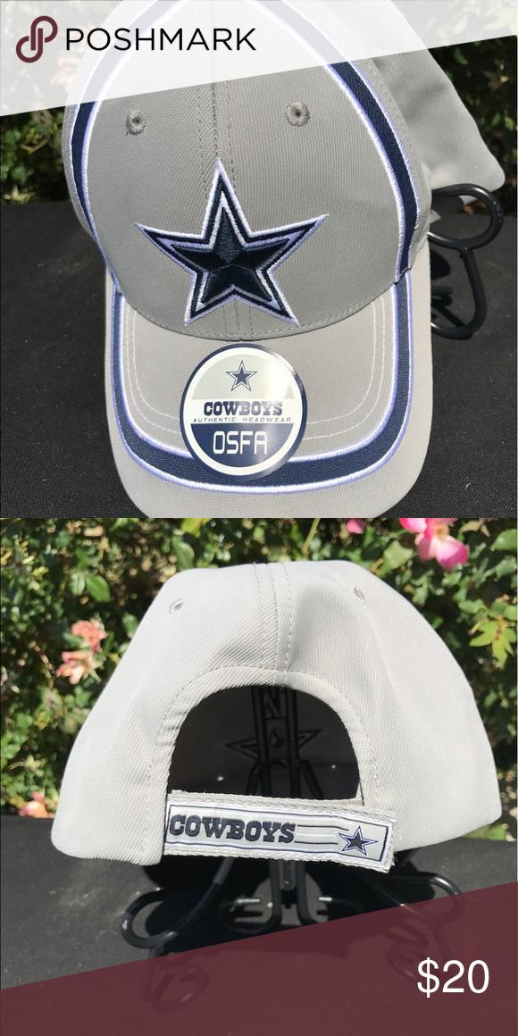 921c5cd20f6 Dallas Cowboys authentic cap Dallas Cowboys Authentic OSFA adjustable cap  One size fits all Brand new