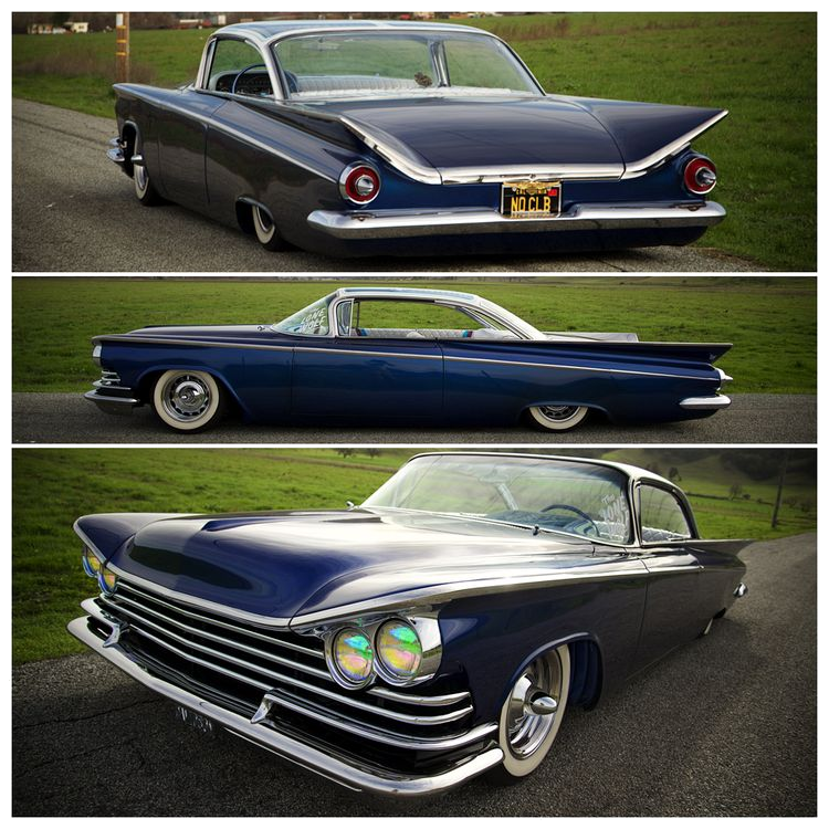 1965 Buick Lesabre For Sale 1950645: Beautiful Dark Blue 1959 Buick ARE THOSE HEADLIGHTS
