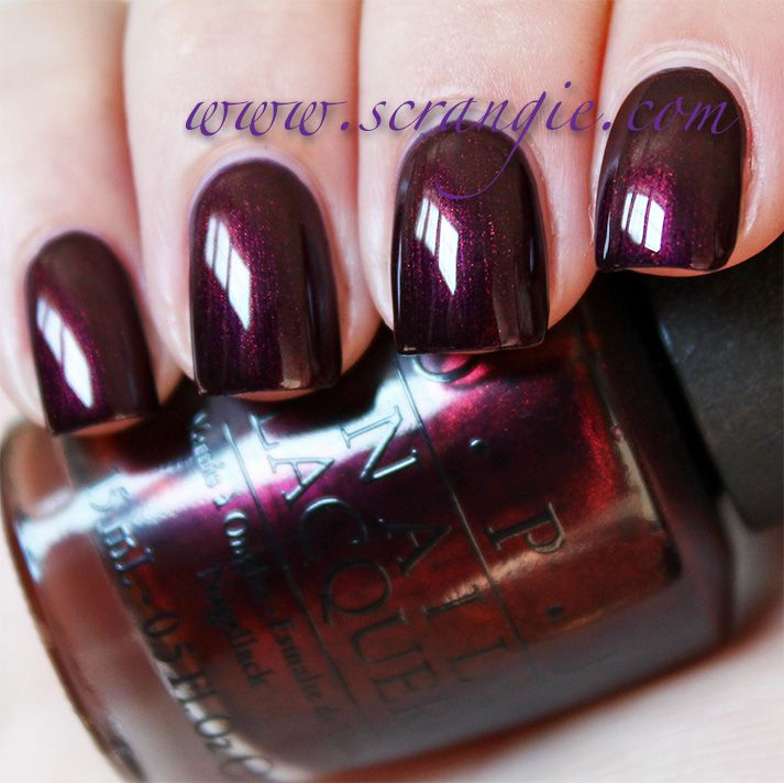 OPI Every Month Is Oktoberfest | Nail color | Pinterest | OPI, Max ...