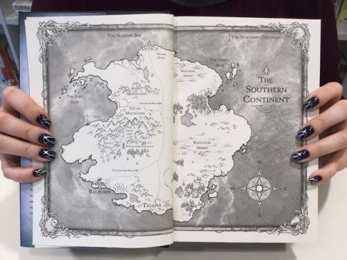 Worldofsarahjmaas How Cool Is The Southern Continent Map Inside