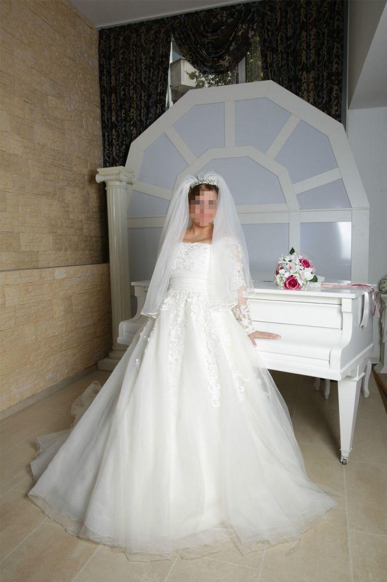 ♥ Brautkleid, gebrochenes weiß mit Spitze ♥ Ansehen: http://www ...