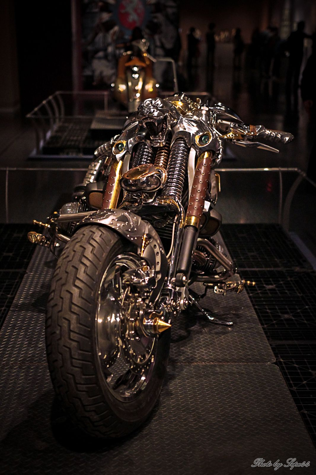 http://www.steampunktendencies.com/ #motorcycle #steampunk