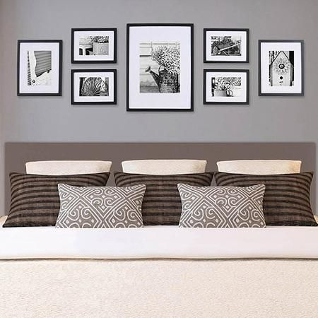 Pinnacle Gallery Perfect 7 Piece Frame Kit Walmart Com Living Room Wall Decor Bedroom Decor