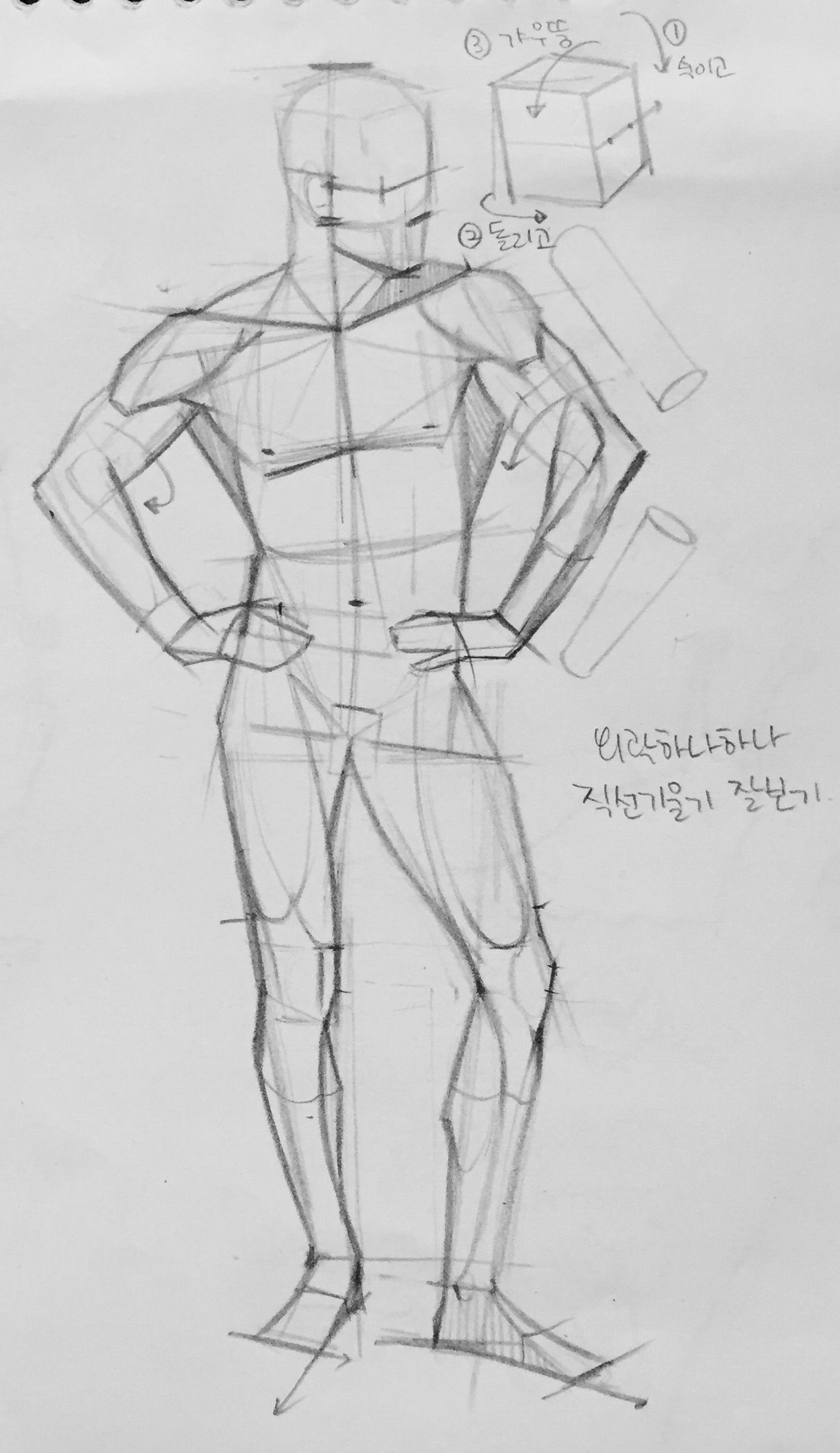 This is a photo of Selective Figure Drawing Male