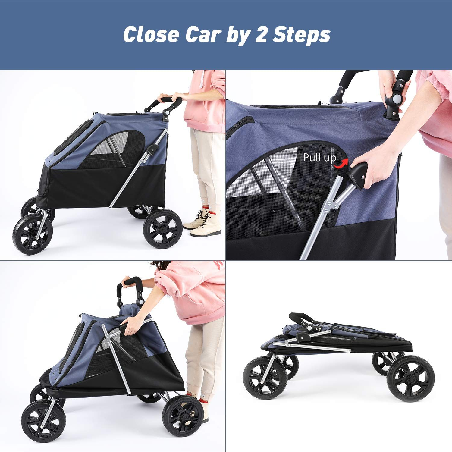 Pin on Dogs Stroller