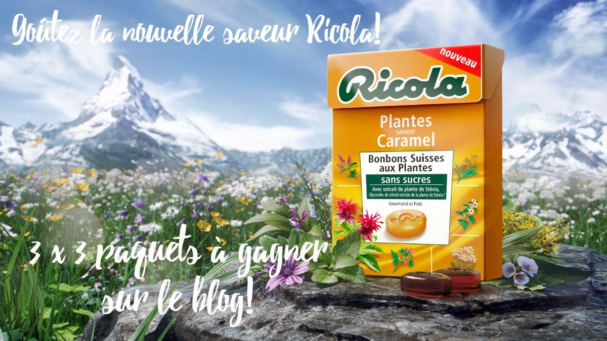 [On aime] Du nouveau dans les bonbons ! ricola plantes saveur caramel {concours en fin d'article} - Cuisine addict @cuisineaddict