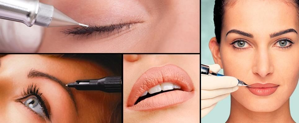 Mobile Semi Permanent Make Up Micro Pigmentation For Eyebrows