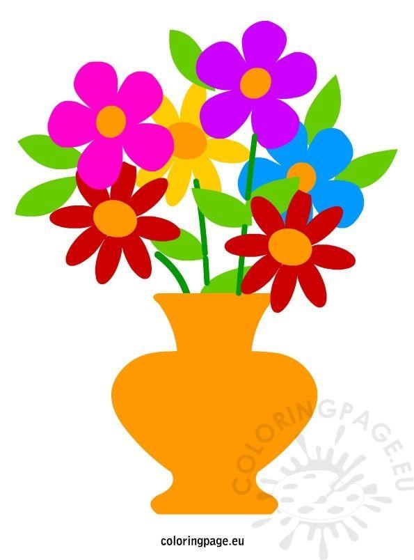 38 Best Of Flower Vase Cartoon Images Decoration In 2018