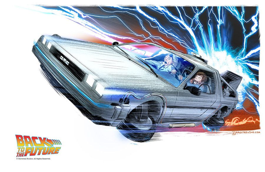 Back To The Future By *raultrevino On