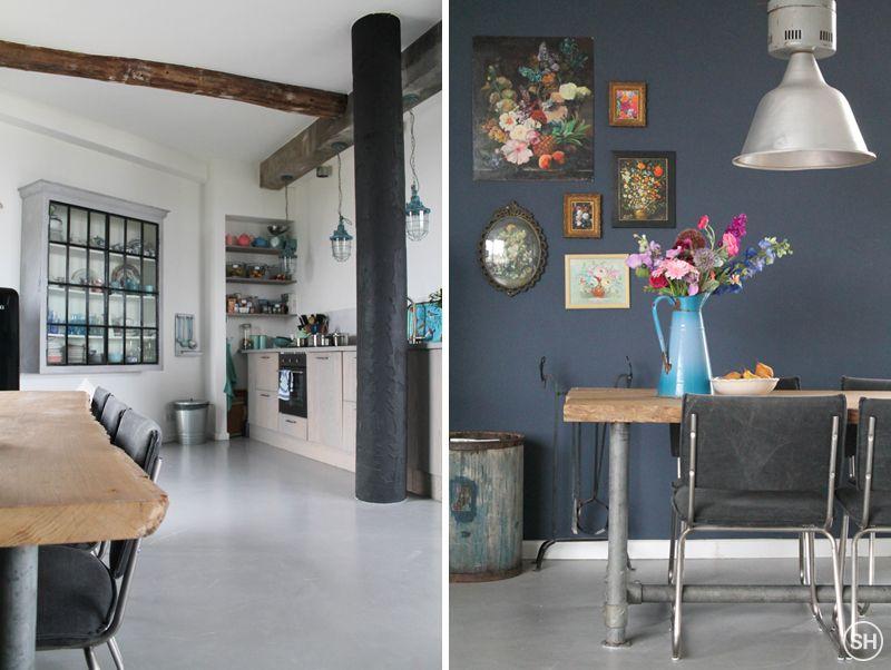 Binnenkijken in een watertoren Thuis l Home interior Pinterest