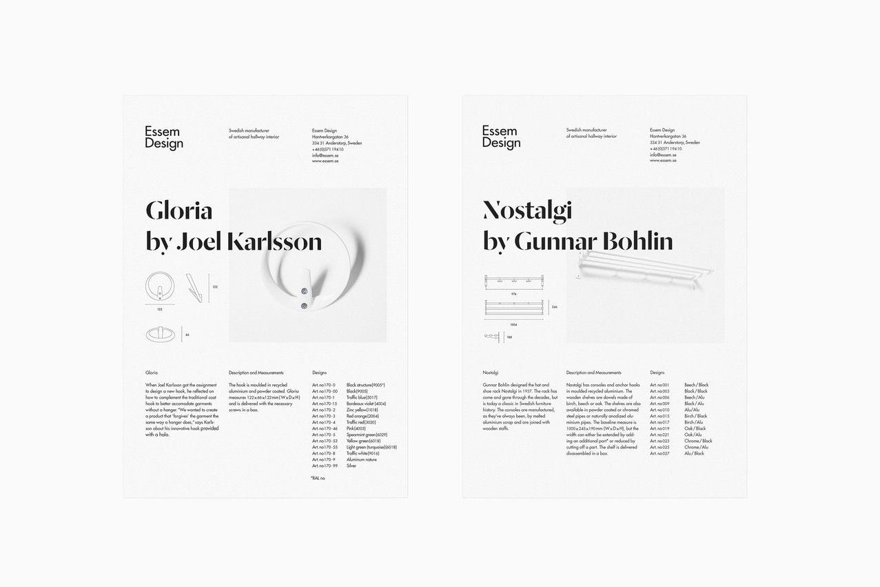 Bedow — Identity, Essem Design
