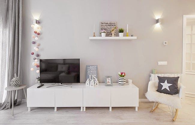 M s de 25 ideas incre bles sobre mueble tv blanco en - Mueble rustico ikea ...