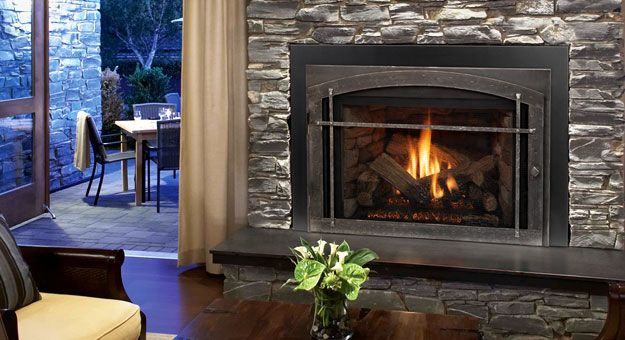 Like The Look Of This One Although It S Gas Vermont Castings Stoves Fireplaces And Gr Wood Burning Fireplace Inserts Prefab Fireplace Vented Gas Fireplace