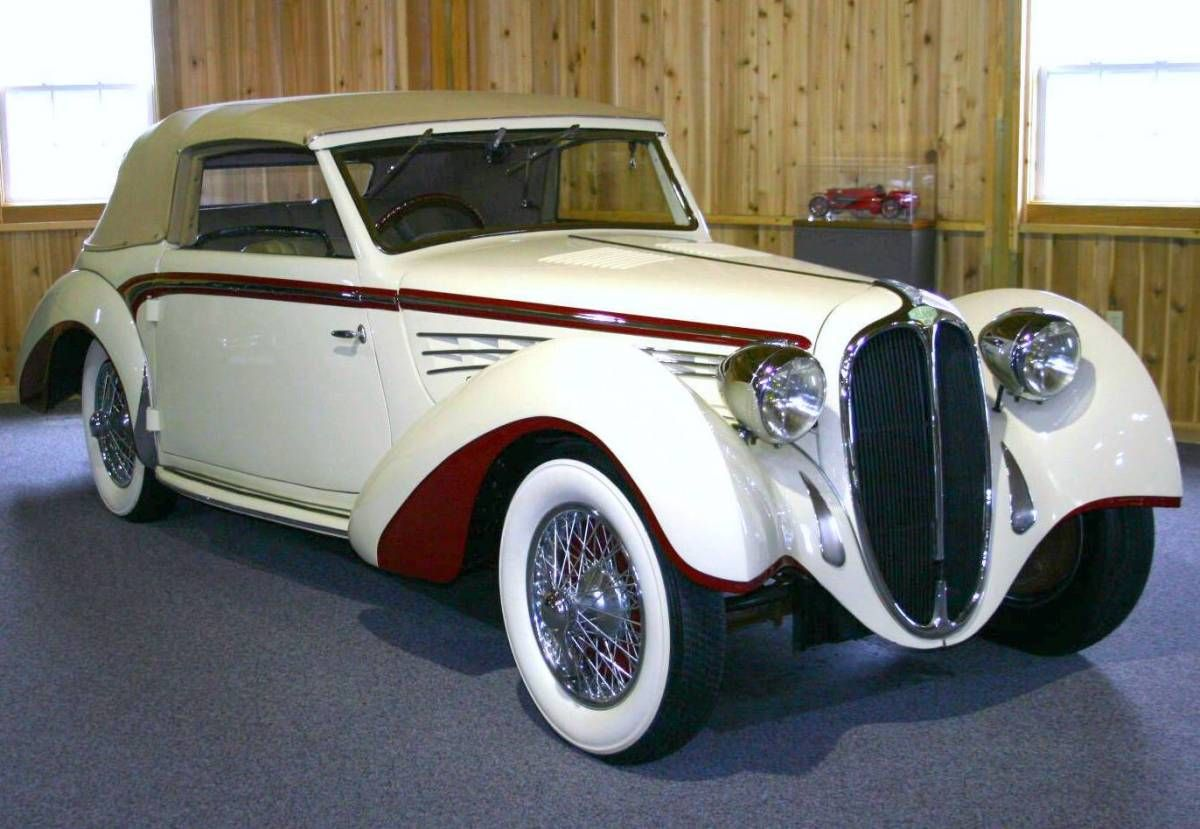 1939 Delahaye 135 M Convertible Coupe Maintenance/restoration of old ...