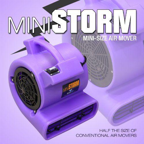 Mini Storm High Velocity Multi Purpose Air Mover Blower Dryer Fan For Ventilation Fume Extraction Carpet Amp Floor Blower Dryer Ventilation Movers